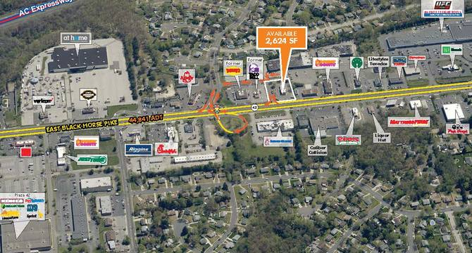 CBRE RetailTurnersville, NJ - 2,624 SF Fast Food Restaurant With Drive-Thru5480 East Black Horse Pike  Photo