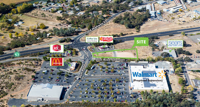 CBRE RetailRetail_Highway Commercial Land - Clearlake15885 Dam Road Extension  Photo