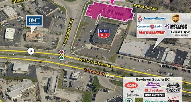 CBRE RetailNewtown Square, PA3599 West Chester Pike  Photo
