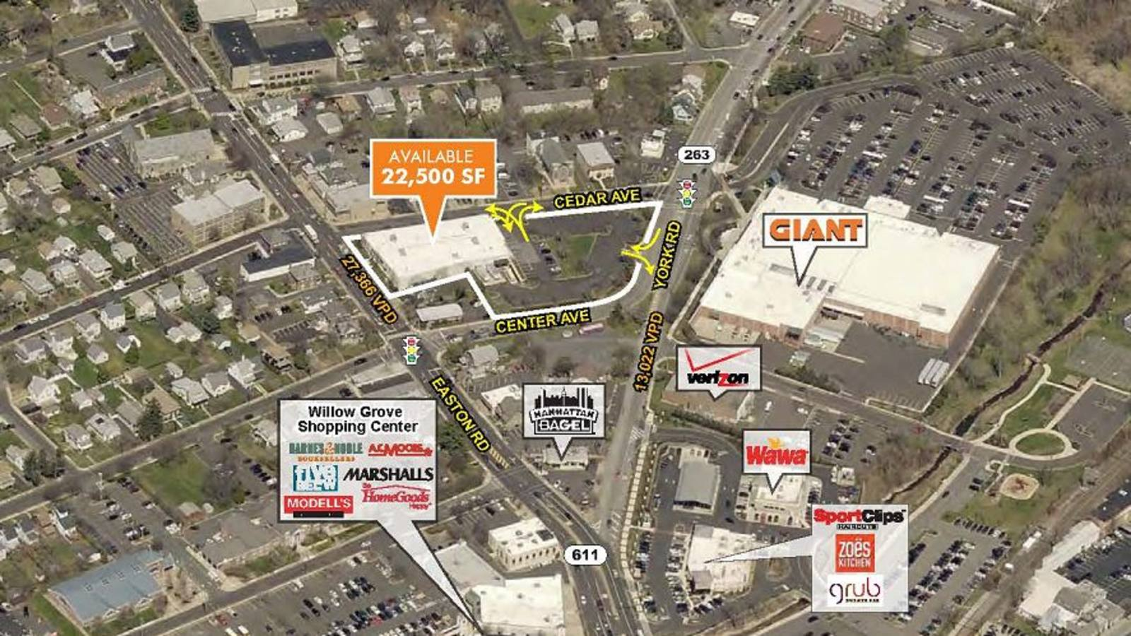 CBRE RetailWillow Grove, PA - Freestanding Retail Building300 York Road  Photo