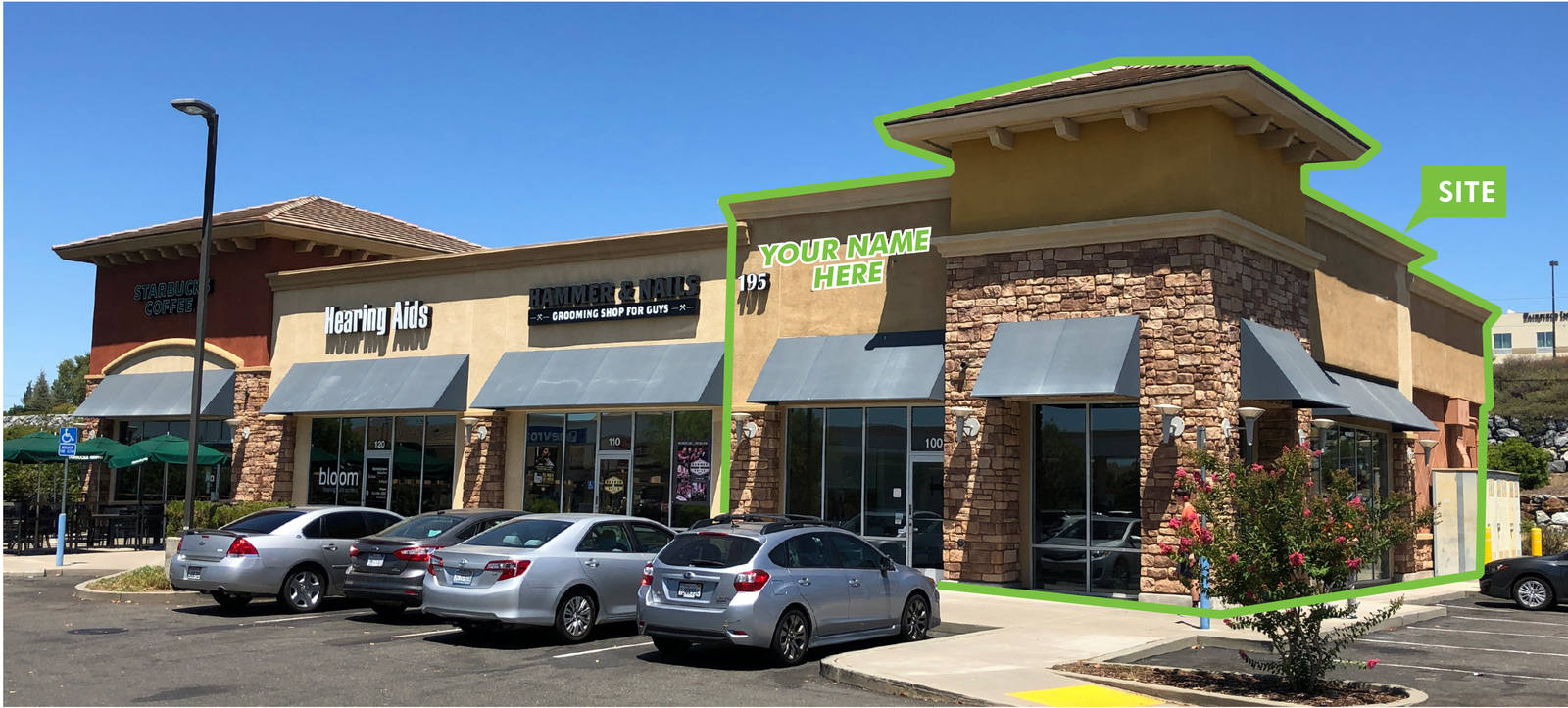 CBRE RetailFolsom Pointe Pad Space195 Placerville Rd  Photo