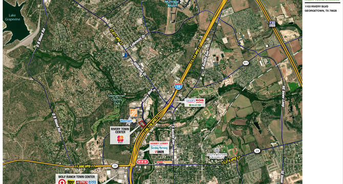 CBRE RetailRivery Towne Crossing1103 Rivery Blvd (Swc I-35 & Rivery Blvd)   Photo