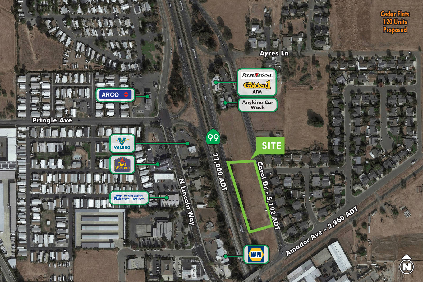 CBRE RetailCommercial Land - Carol DrCarol Dr  Photo