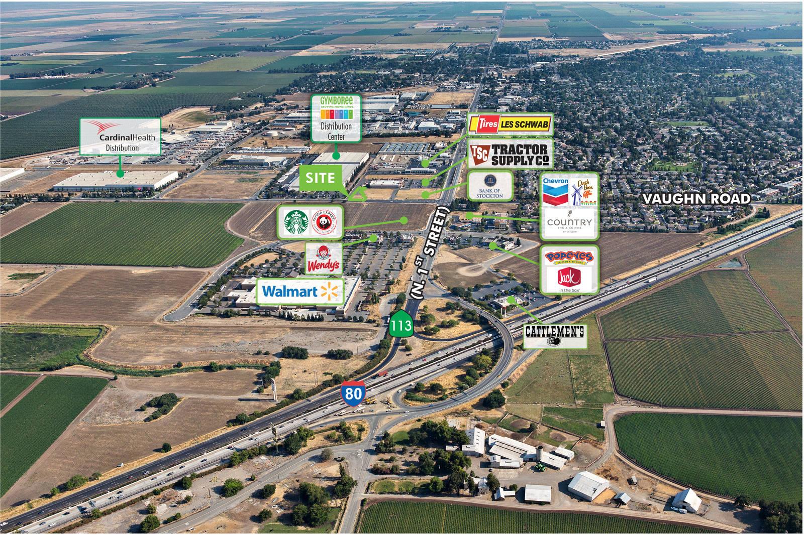 CBRE RetailDixon Commerce CenterSEQ Highway 113 & Vaughn Road  Photo