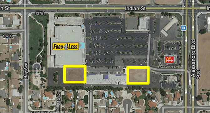 CBRE RetailShoppes in Moreno Valley-Pads for Sale, Lease or BTSNWC Indian St & Alessandro Blvd  Photo