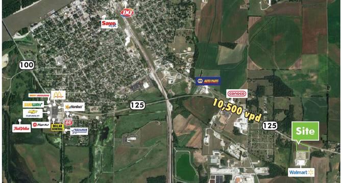 CBRE RetailWalmart Outlot Beardstown100 Lincoln Ave  Photo