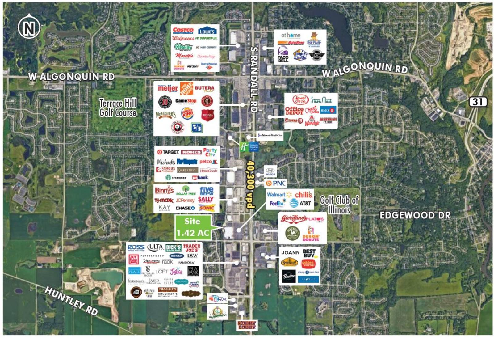 Walmart Outlot Algonquin 1410 S Randall Rd Algonquin Il Retail For Lease And For Sale At Cbre