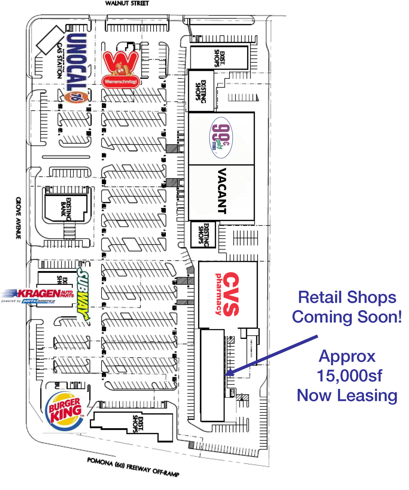 CBRE RetailGrove Plaza-For Ground Lease or Build-To-SuitSWC Grove Avenue & 60 Freeway   Photo