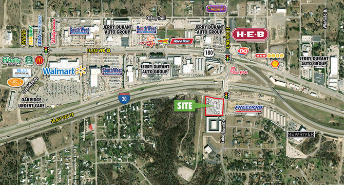 CBRE Retail2.8–Acre Hudson Oaks, TX Pad SiteSWC Lakeshore Dr & I-20  Photo