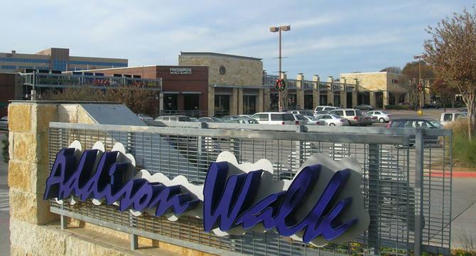 CBRE RetailAddison WalkSWC Dallas North Tollway & Belt Line Rd  Photo